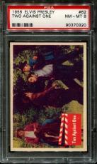 1956 Elvis Presley #62 Two Against One Psa 8 N2523386-320