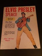 "1956 Elvis Presley, ""Elvis Presley Speaks"" Magazine (No Label)"