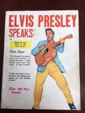 "1956 Elvis Presley, ""Elvis Speaks!"" Magazine (Scarce)"