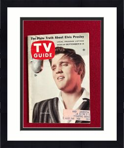 "1956, Elvis Presley, ""TV Guide"", (Scarce)"