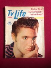 """1956, Elvis Presley, """"TV Life"""" Guide (Rare)"""
