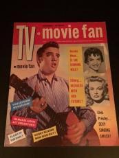 "1956 Elvis Presley, ""TV Movie Fan"" Magazine (No Label)"
