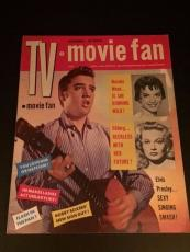 "1956 Elvis Presley, ""TV Movie Fan"" Magazine (No Label)"