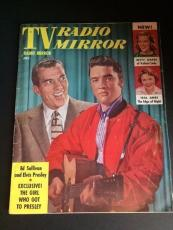 """1956 Elvis Presley, """"TV Radio Mirror"""" Magazine (No Label)"""