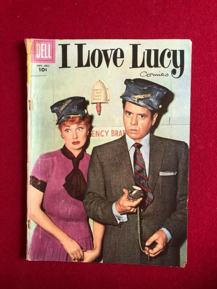 """1956, Lucille Ball, """"DELL"""" Comic Book (Scarce / Vintage)  (I Love Lucy)"""