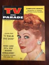 "1956 Lucille Ball, ""TV Star Parade"" Magazine (No Label)"