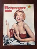 "1956 Marilyn Monroe, ""Picturegoer"" Magazine (Scarce) (No Label)"
