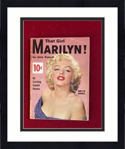"1956, Marilyn Monroe, ""That Girl Marilyn"" Magazine, Vintage"