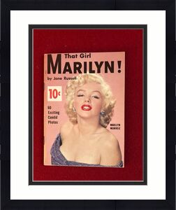 "1956, Marilyn Monroe, ""That Girl Marilyn"" Magazine, Vintage"