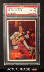 1956 Topps / Bubbles Inc  #1   Go Go Go Elvis PSA 6 Y9104