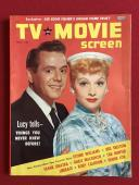 "1956,Lucille Ball (I Love Lucy),""TV and Movie Screen"" Magazine (No Label) Scarce"