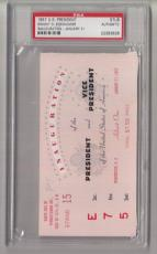 1957 Dwight Eisenhower Inauguration Ticket Stub PSA 22393626