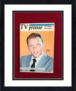 """1957, Frank Sinatra, """"TV Prevue"""" Guide (Scarce)"""