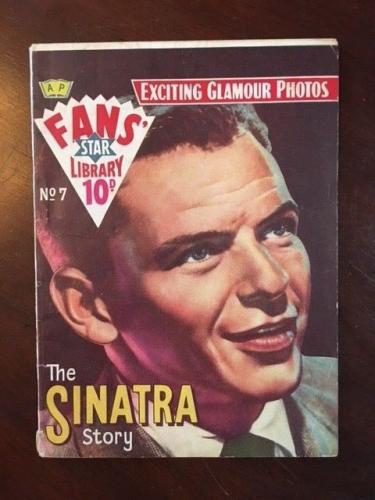 "1958, Frank Sinatra, ""Fans Star Library"" Magazine (Scarce)"