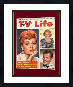 """1958, Lucille Ball, """"TV PICTURE Life"""" Magazine (No Label) Scarce  (I Love Lucy)"""