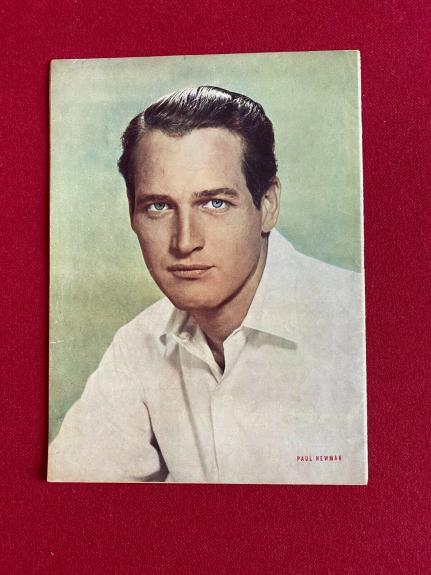 "1958, Paul Newman, ""Filmski"" Magazine (Scarce/ Vintage)"
