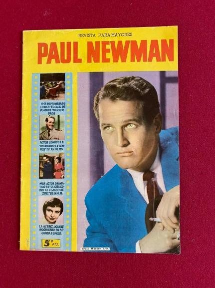 1958, Paul Newman, Magazine (Scarce/ Vintage)
