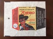 "1958, ""Zorro"" (Walt Disney), Argentina Card Wrapper (Scarce)"