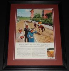 1959 Derby Daiquiri PR Rum 11x14 Framed ORIGINAL Vintage Advertisement Poster