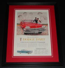 1959 Dodge Dart 11x14 Framed ORIGINAL Vintage Advertisement Poster