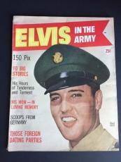 "1959 Elvis Presley, ""Elvis In The Army"" Magazine, (No Label)"