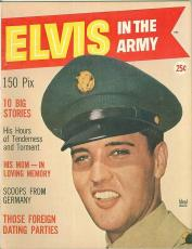 1959 Elvis Presley in the Army Mint  Ideal Magazine