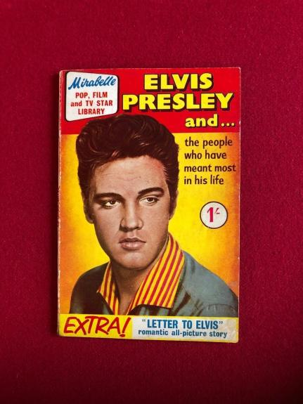 "1959, Elvis Presley, ""Mirabelle Library"" Magazine (No Label) Scarce"