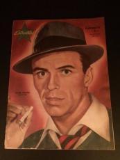 """1959 Frank Sinatra """"Estrellas"""" Magazine (No Label) (Scarce)"""