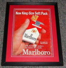 1959 Marlboro Cigarettes 11x14 Framed ORIGINAL Vintage Advertisement Poster C