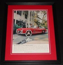 1959 Mercedes Benz 300 11x14 Framed ORIGINAL Vintage Advertisement Poster