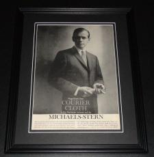 1959 Michaels Stern Suits 11x14 Framed ORIGINAL Vintage Advertisement Poster