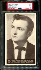 1959 Nu Cards Rock & Roll #11 Johnny Cash Pop 6 Psa 7 N2588217-131