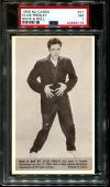 1959 Nu Cards Rock & Roll #37 Elvis Presley Pop 14 Psa 7 N2588246-176