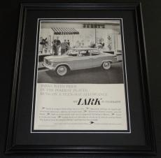 1959 Studebaker Lark 11x14 Framed ORIGINAL Vintage Advertisement Poster B