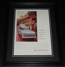 1959 Vauxhall 11x14 Framed ORIGINAL Vintage Advertisement Poster B