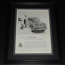 1959 Vauxhall 11x14 Framed ORIGINAL Vintage Advertisement Poster C