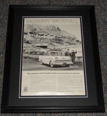 1959 Vauxhall 11x14 Framed ORIGINAL Vintage Advertisement Poster D