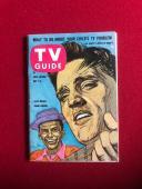 """1960, Elvis Presley / Frank Sinatra, """"TV GUIDE"""" (No Label) Scarce"""