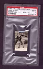 1960 F.P.F. Ltd. Greetings JANE RUSSELL PSA MINT 9 Film Stars Left Arm Out