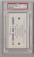 1960 John F. Kennedy JFK Boston Garden Reception Ticket/Pass PSA 21147199