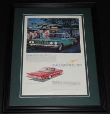 1960 Oldsmobile 11x14 Framed ORIGINAL Vintage Advertisement Poster