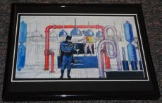 1960s Batman TV Framed 8x10 Concept Sketch Official Reproduction