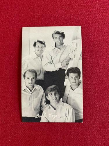 1960's, Beach Boys, Original Exhibit Card  (Scarce / Vintage)