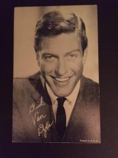 1960's Dick Van Dyke Exhibit Card