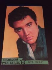 "1960's Elvis Presley, ""Un-Used"" Writing Tablet"