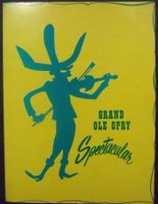 1960's Grand Ole Opry Spectacular Program Willie Nelson Roy Acuff Jack Roberts