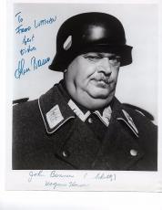 1960's John Banner Schultz Signed Autographed 8X10 Photo Hogan's Heroes JSA COA