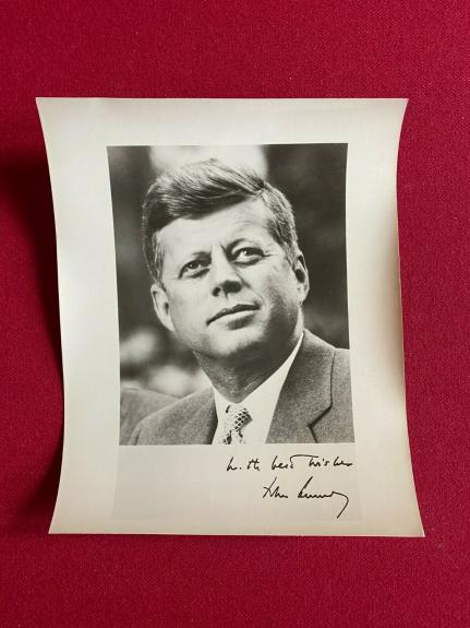 1960's, John F. Kennedy, 8x10 Glossy Press Photo (Scarce / Vintage)