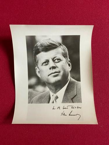 "1960's, John F. Kennedy, 8x10 Glossy ""Press"" Photo (Scarce / Vintage)"