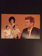 "1960's John F. Kennedy, ""Un-Used"" Post Card"